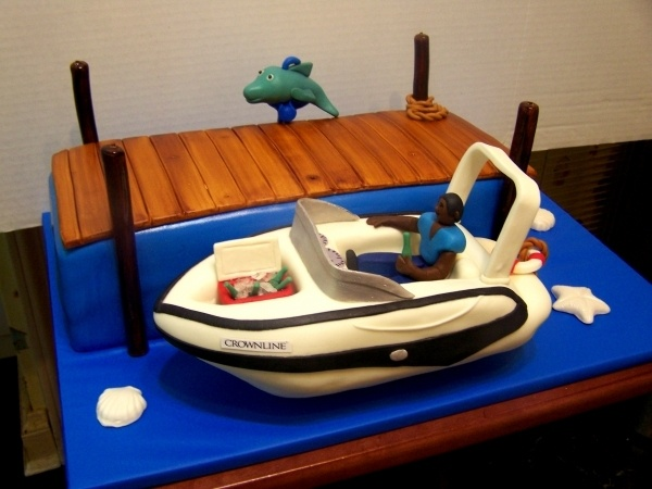 Boat Birthday Cake Images : Boat Birthday Cake Boat Cakes Pinterest