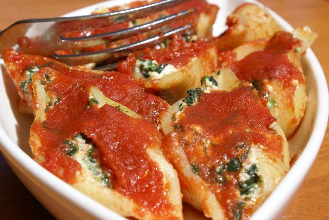 CONCHIGLIONI RIPIENI AL FORNO | Cose da cucinare | Pinterest
