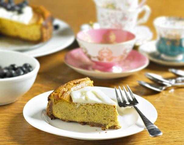 Ricotta Cheesecake Pie Recipe — Dishmaps