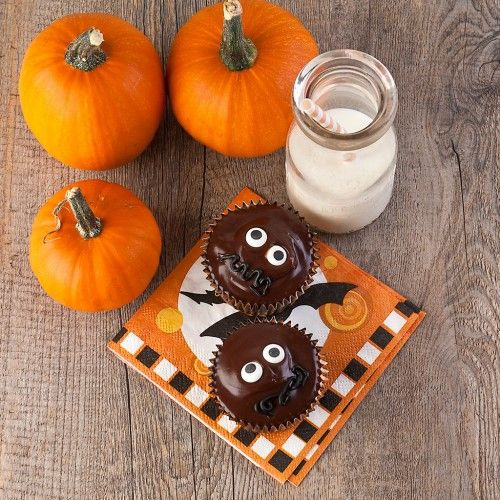 Spooky Chocolate Cupcakes (gluten-free) | Pumpkin Patch | Pinterest