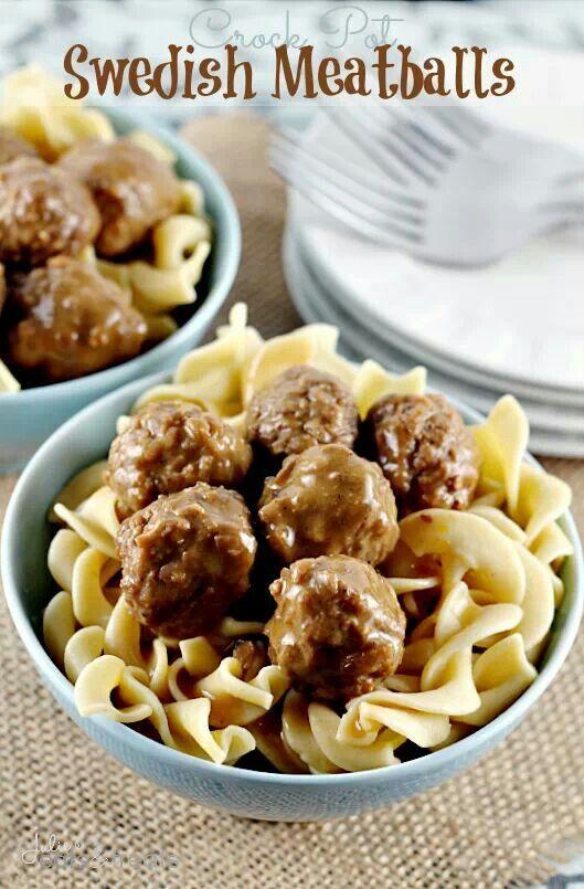Meatballs | crockpot recipes | Pinterest