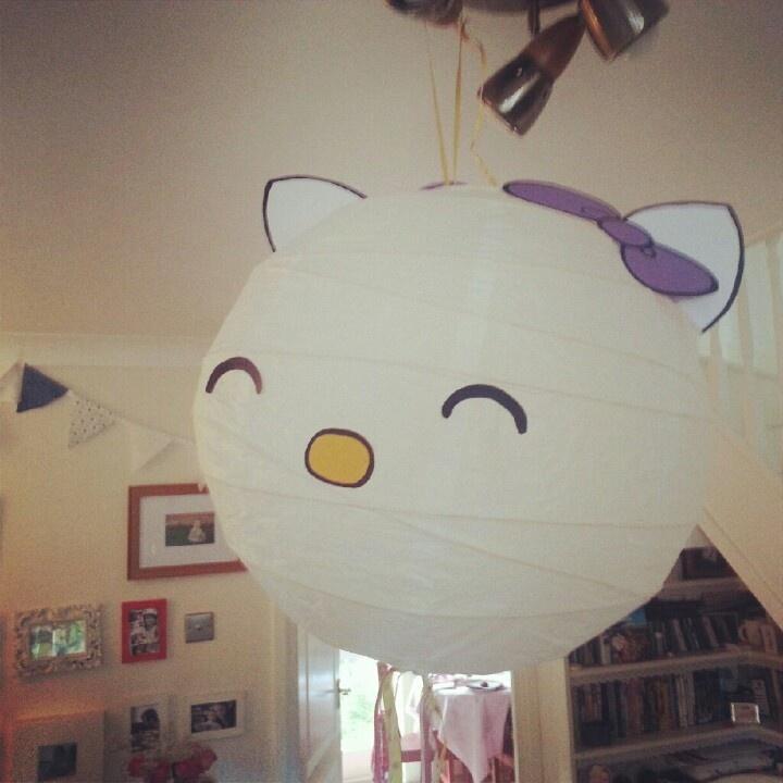 Hello kitty party decoration diy party ideas pinterest for Decoration hello kitty