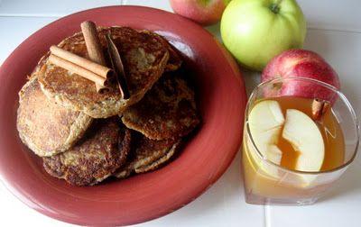Apple Cider Pancakes #vegan