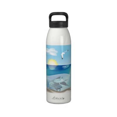 Dolphins Liberty Bottle Water Bottle