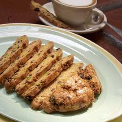 Mary Kay's Pistachio and Currant Biscotti | Recipe