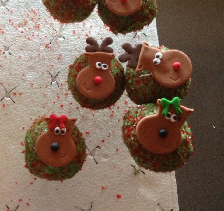 Christmas Cake Pop Ideas Pinterest : Cake pops Christmas Pinterest
