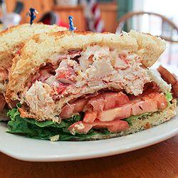 Lobster Club Sandwich | Food-Sandwiches | Pinterest