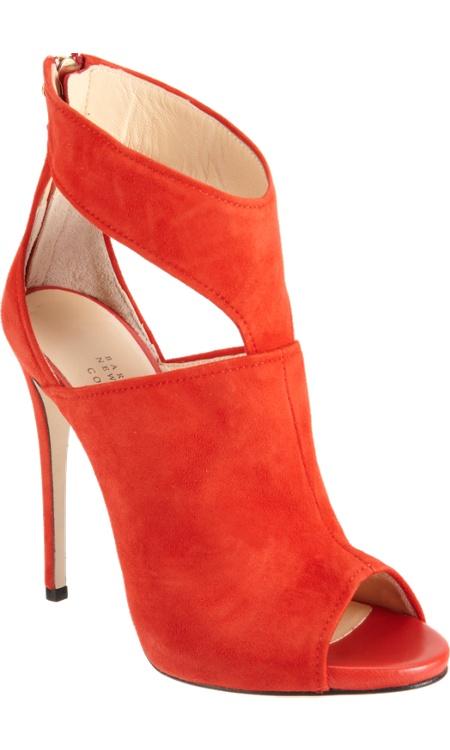fashion world orange high heel shoes. Black Bedroom Furniture Sets. Home Design Ideas