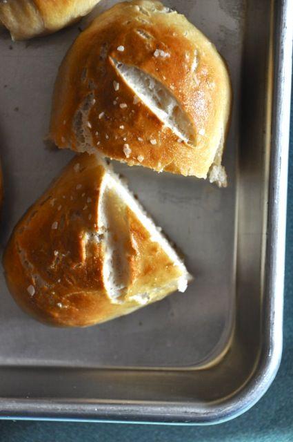 pretzel rolls #food | Food That Makes Me Salivate | Pinterest
