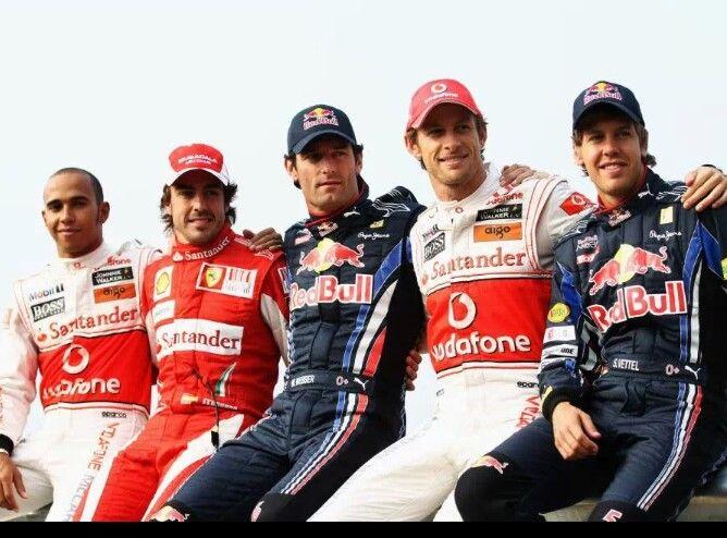 formula 1 drivers championship 2010