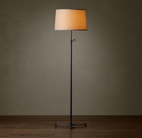 Restoration hardware floor lamp for the home pinterest for Restoration hardware floor lamp glass
