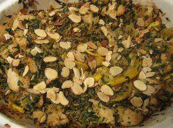 Greek Chicken And Spinach Casserole | AllFreeCasseroleRecipes.com