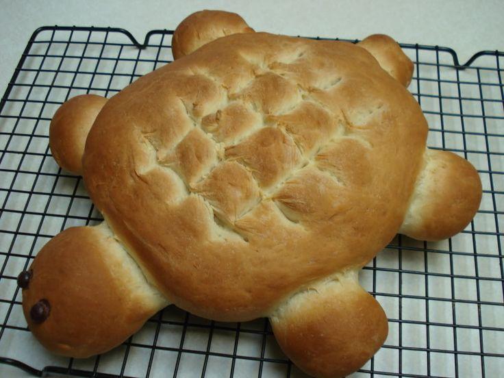 Turtle bread!