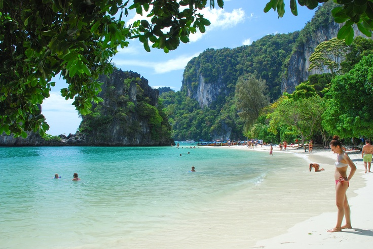 Hong islands, Krabi province, Thailand  Places Ive Been  Pinterest