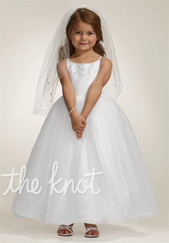 Flower Girl Dresses Davids Bridal White : Flower girl dress davids bridal