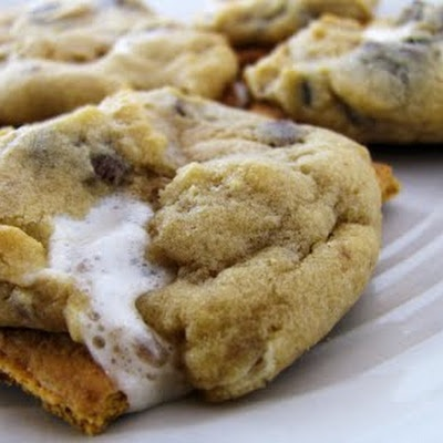 Campfire Cookies | Cookies and Bars | Pinterest