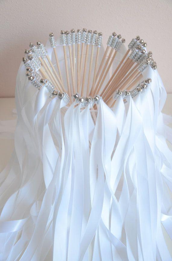 Wedding ribbon wands for Wedding wands