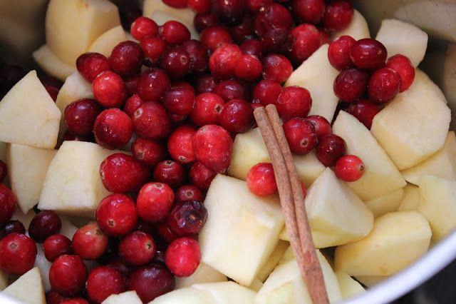 cranberry applesauce   food: fruits   Pinterest
