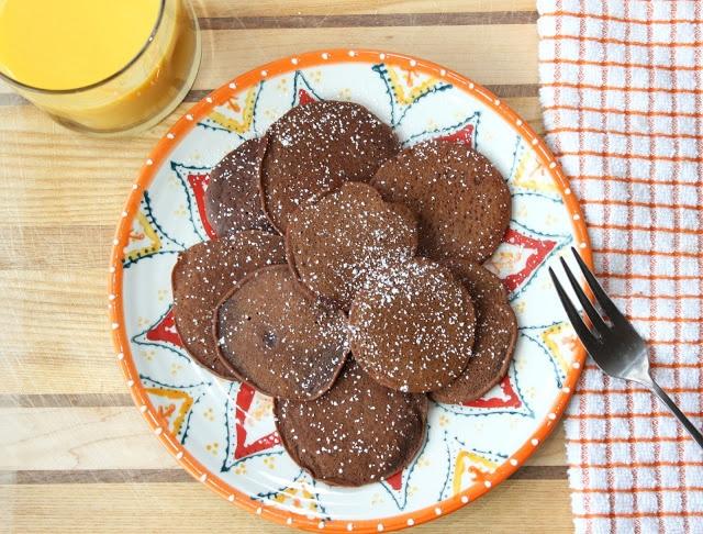Brownie Batter Pancakes | The Hobo Kitchen | Pinterest