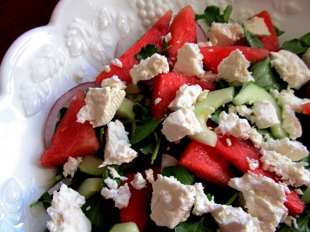 Watermelon and Feta Arugula Salad! | h e a l t h & f i t n e s s . …