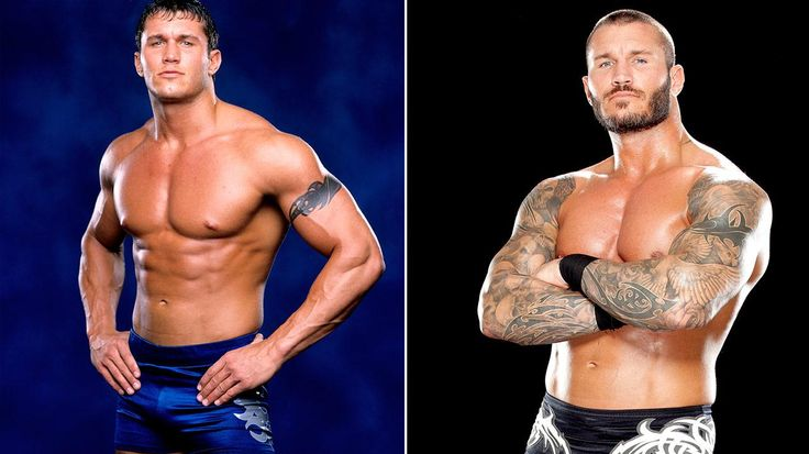randy orton before and after