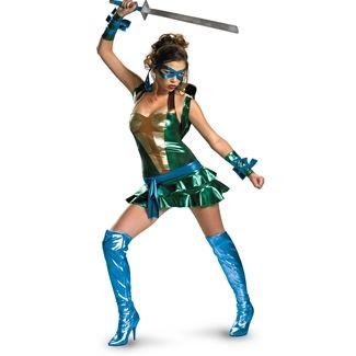 TMNT - Sexy Leonardo (Blue) Deluxe Adult Costume