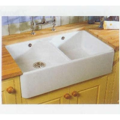 ... and Boch Farmhouse 80 6331-95-01 Overmount Ceramic kitchen sink
