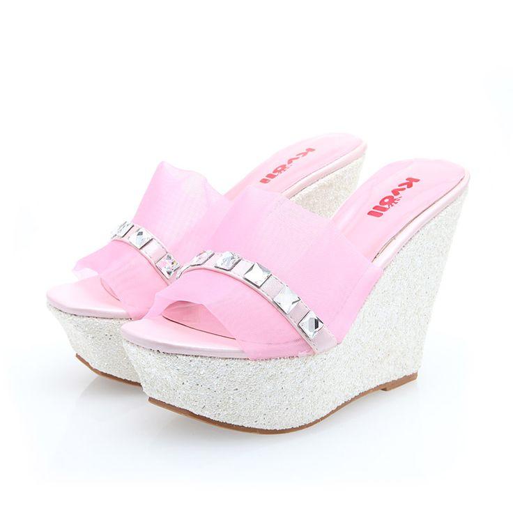 sequin unique pretty high quality beautiful women shoes T26925
