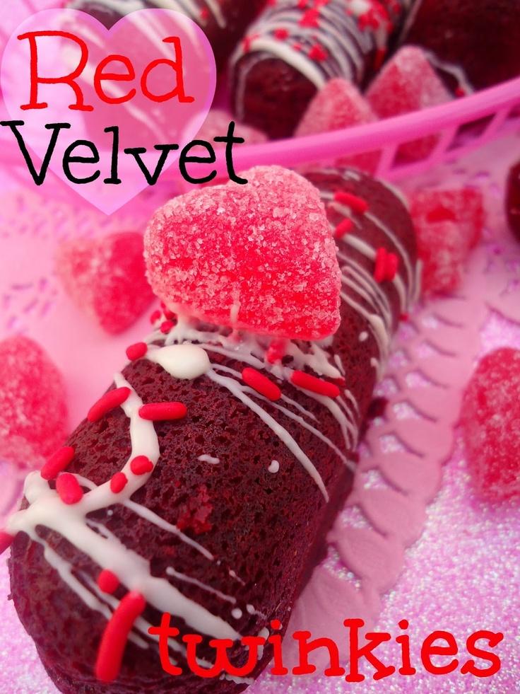 chica chocolatina: Red Velvet Twinkies Recipe