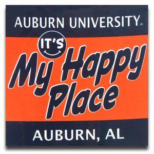 Auburn... It's my happy place:)