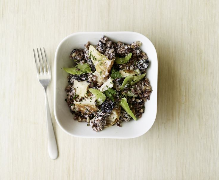 Turkey Rice Salad Recipe — Dishmaps