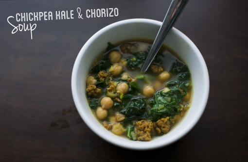 chickpea, chorizo and kale soup | Recipes To Try | Pinterest