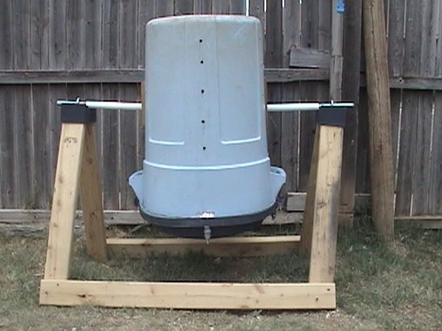Homemade Compost Tumbler 56