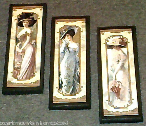 Pin by cheyenne watkins on french decor pinterest for Victorian wall decor