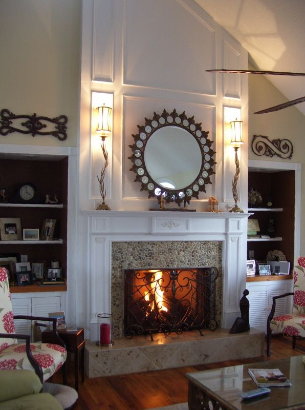 Beach house fireplace house ideas pinterest - Houses with fireplaces ...