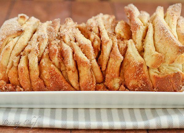 Cinnamon Sugar Pull-Apart Bread | Rollls and Breads | Pinterest