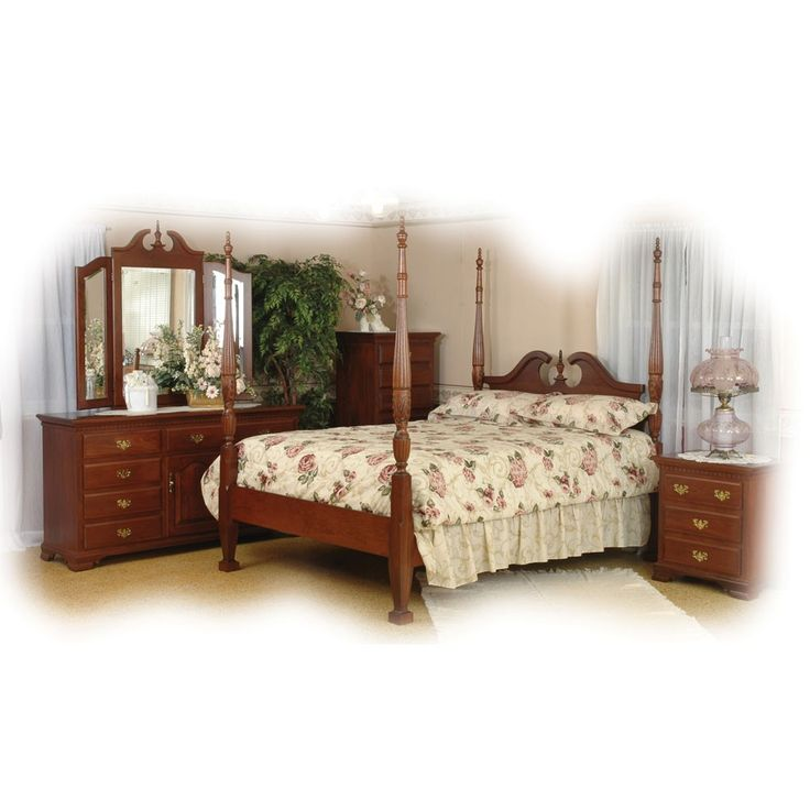 Amish Vintage Collection Bedroom Set