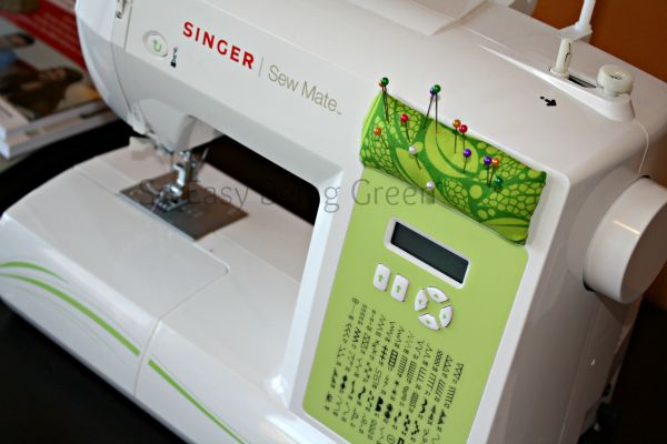 Visit soeasybeinggreenblogcom Good Beginner Sewing Machine Projects