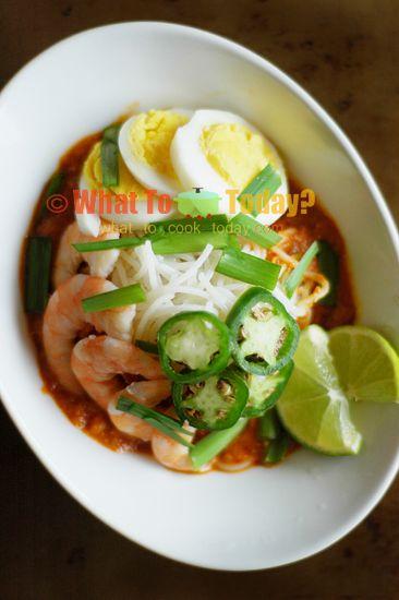 Mee Siam (Spicy Rice Vermicelli) Recipe — Dishmaps