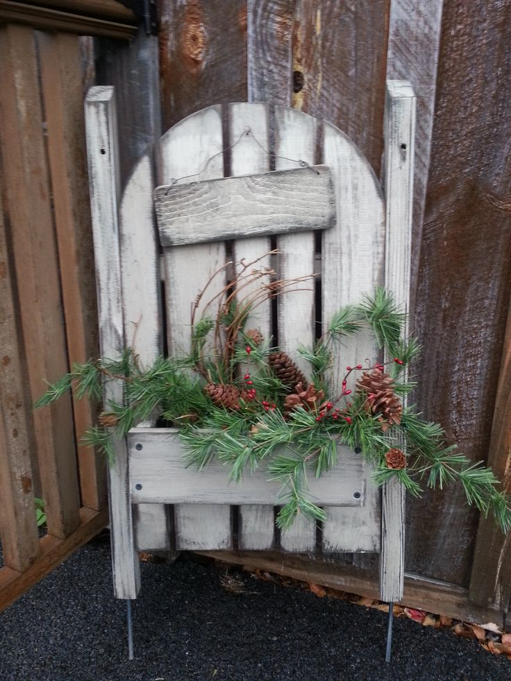 Primitive christmas craft ideas - Picket Fence Things I Made Pinterest