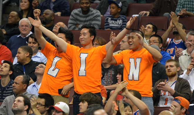Linsanity fans in Philly