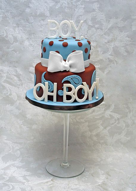 boy oh boy by whimsy cakes via flickr