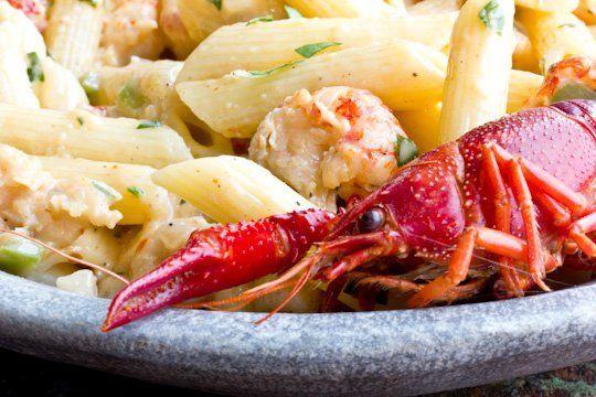 Creamy Crawfish Pasta | Recipe