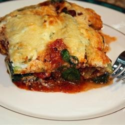 No-noodle zucchini lasagna. (GREAT for low-carb diets!) We made this ...