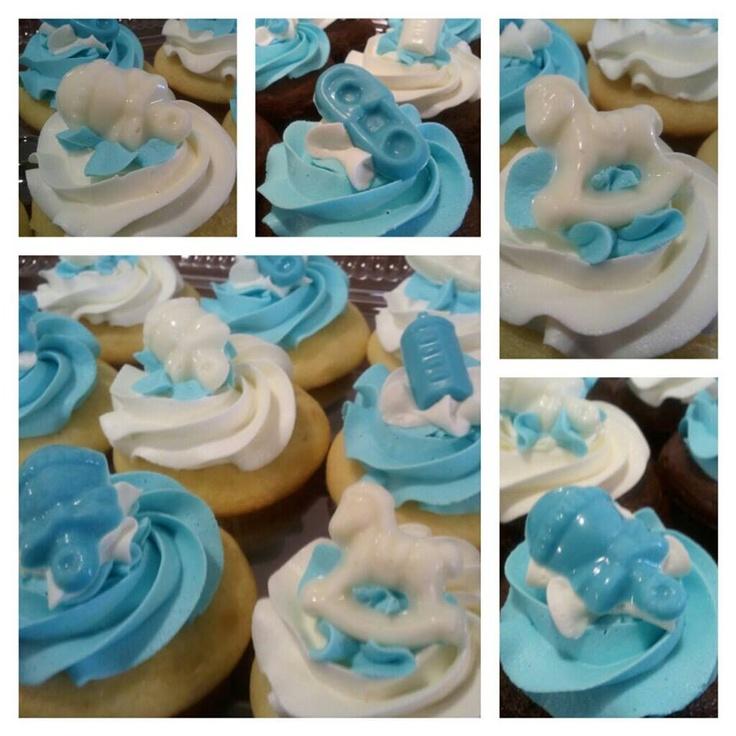boy baby shower cupcakes baby shower ideas pinterest