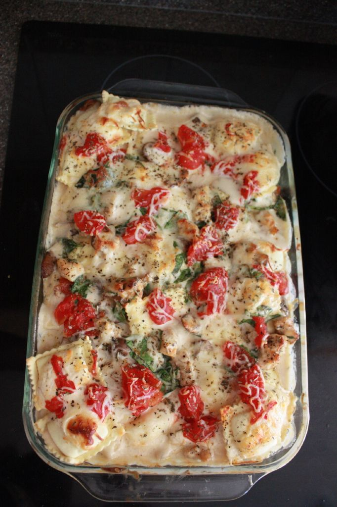 ... pasta recipes to make at home Ravioli Bianca Bake   The Party DIY
