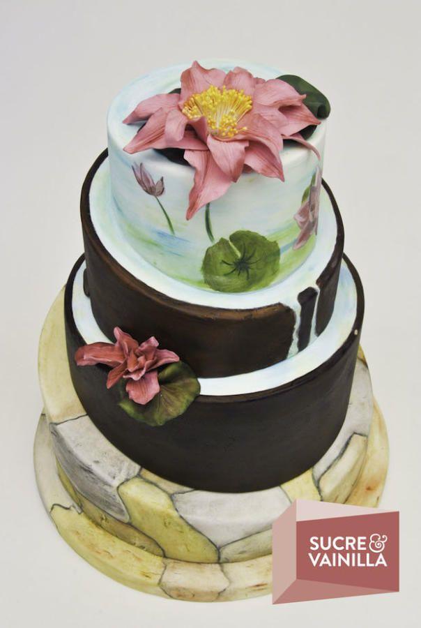 Zen Cake cakes Pinterest