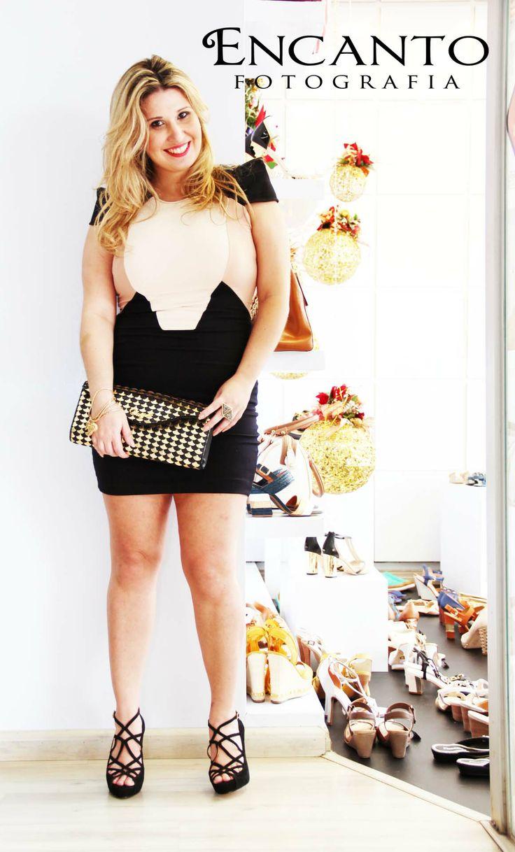 Dress Black White Fashion Blogger Blog Cena Fashion Pinterest