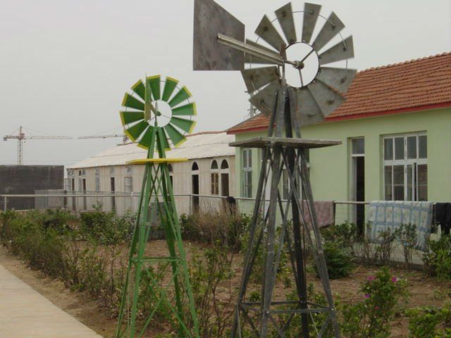 Metal garden decorative windmill buy metal garden for Como hacer molinos de viento para el jardin