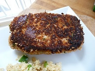 parmesan sage crusted pork chop | Recipes and Foods | Pinterest